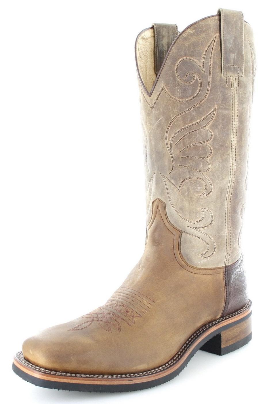 Sendra Boots 11599 Tang Westernreitstiefel - braun
