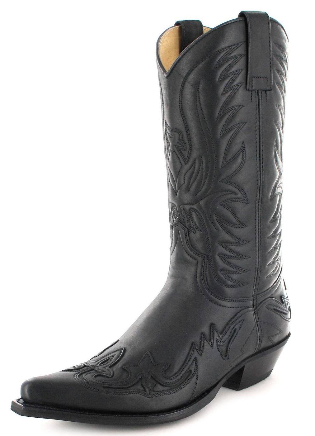 FB Fashion Boots BU1005 Negro Westernstiefel - schwarz