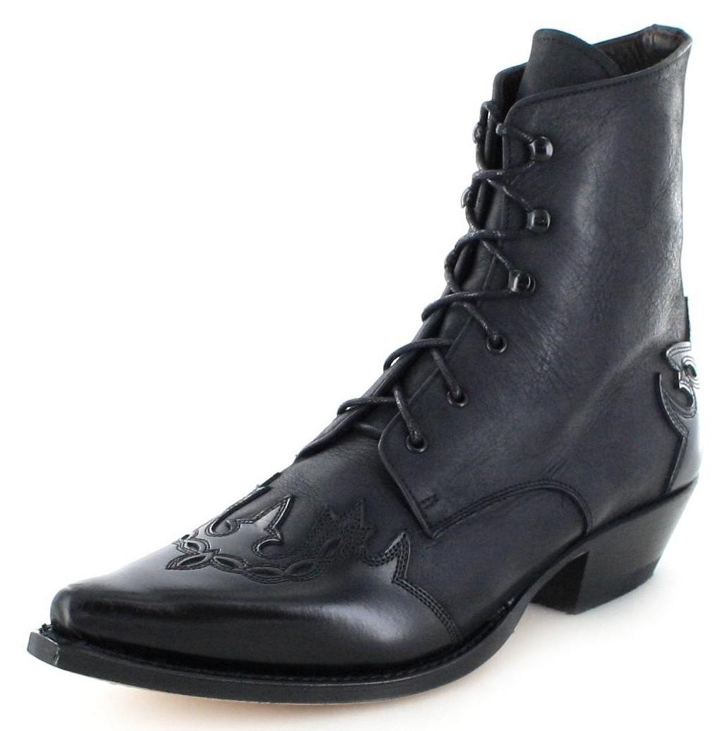 Sendra Boots 11699 Negro Westernstiefelette - schwarz