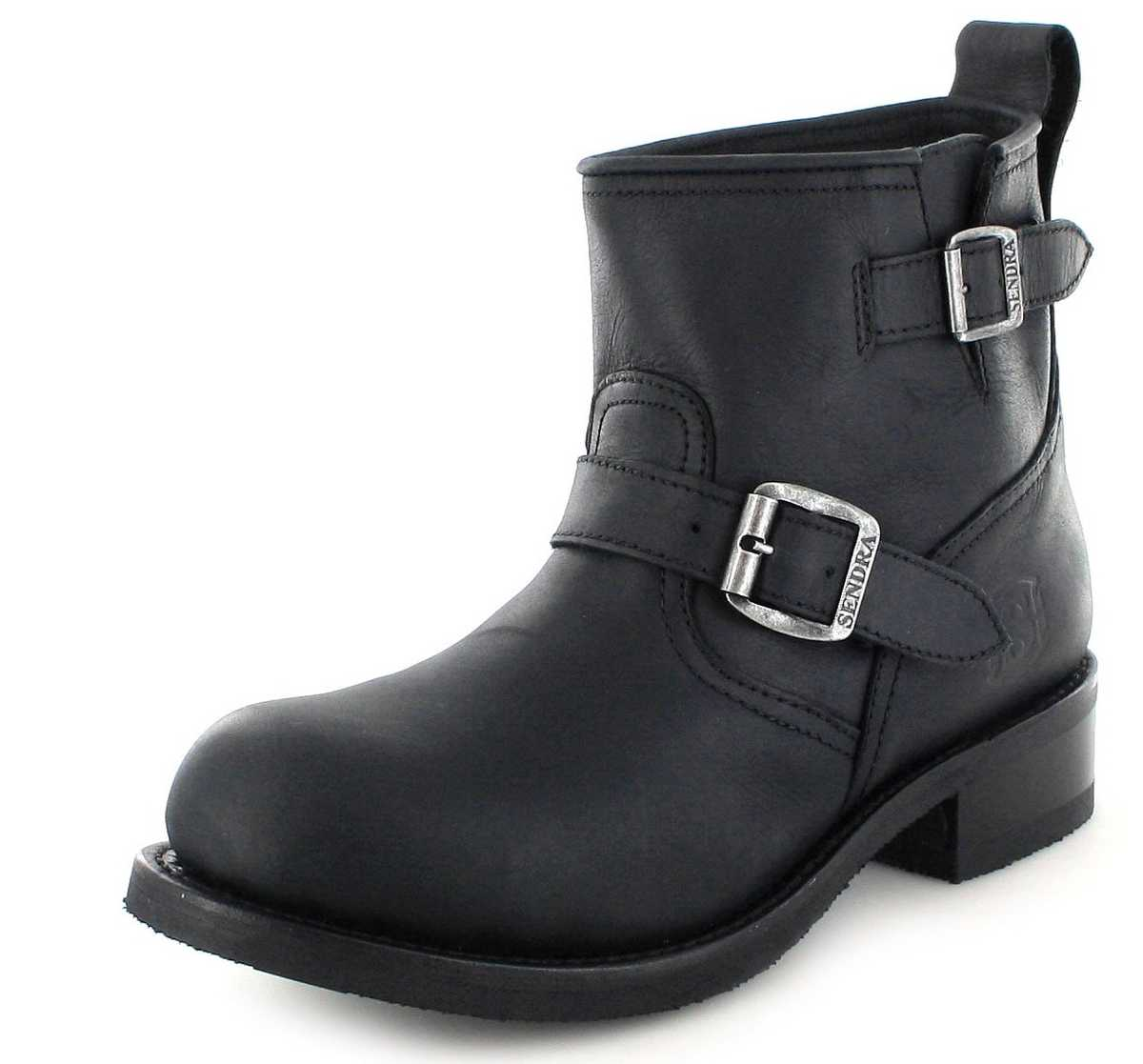 Sendra Boots 11973 Negro Engineerstiefelette Thinsulate Insulation Isolierung - schwarz