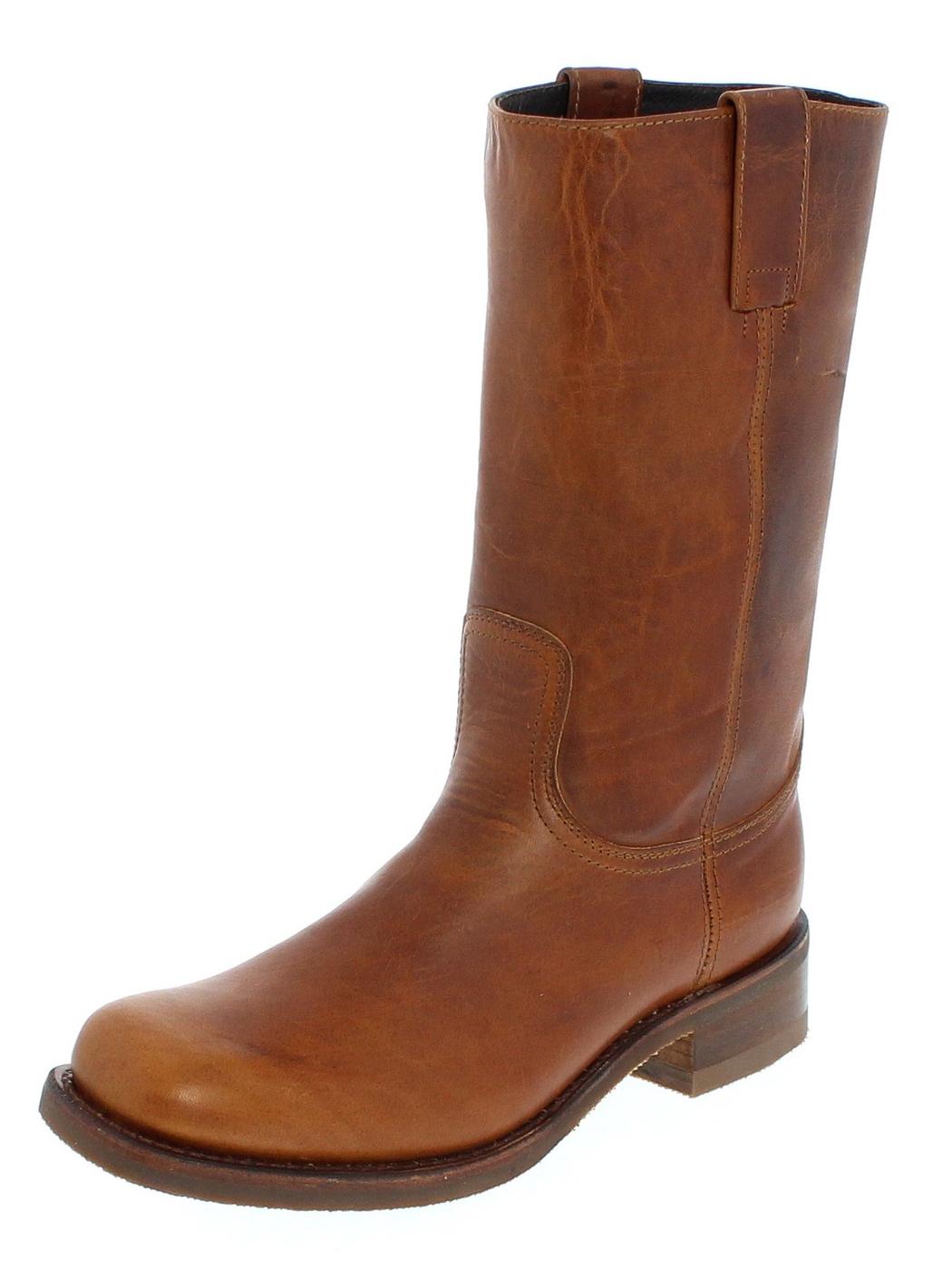 Sendra Boots 3162 Loren Teak Farm & Ranch Boot - Brown