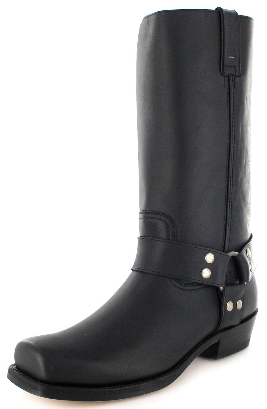 Mayura Boots MB001 Negro biker boot - black