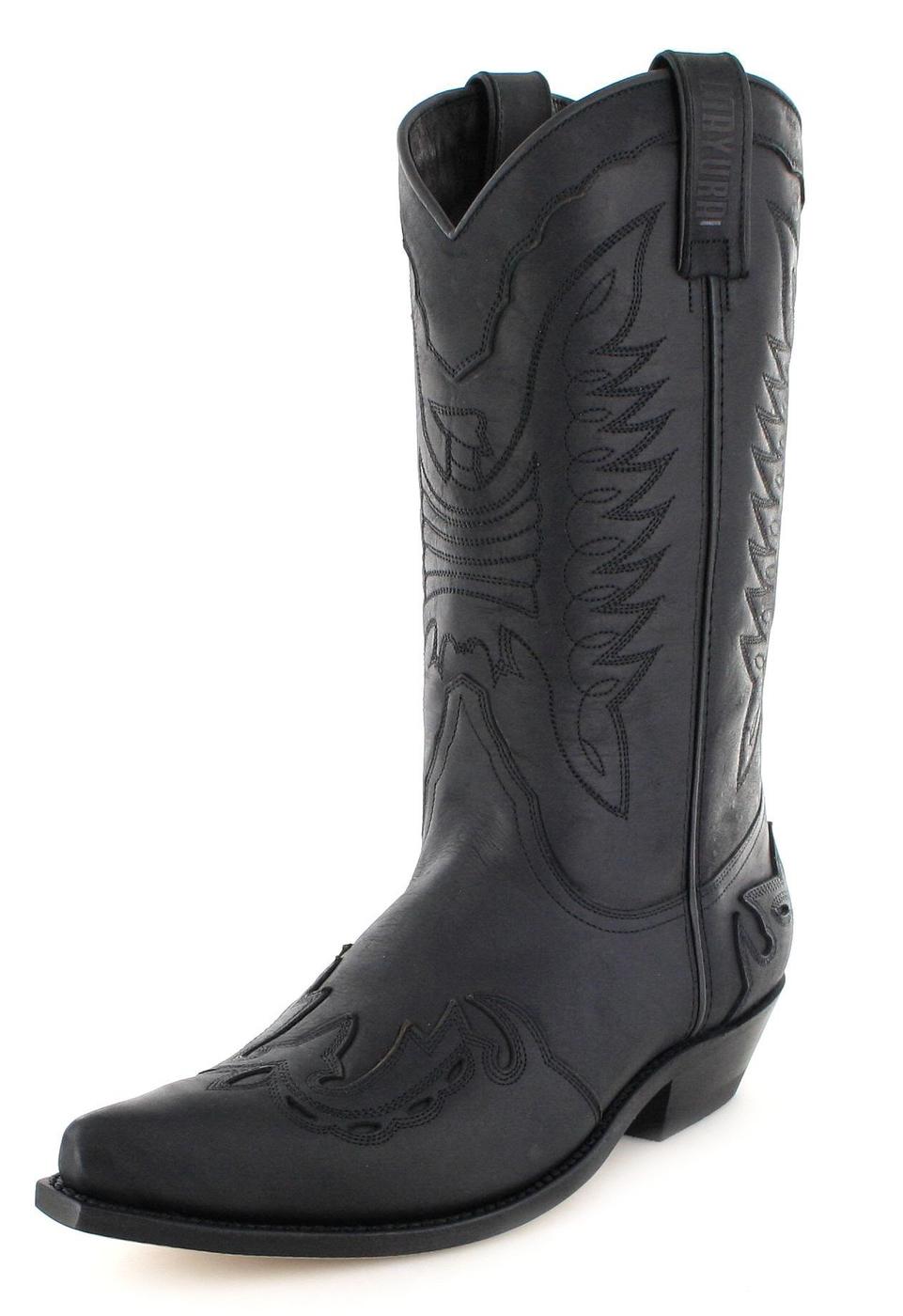 Mayura Boots MB017 Negro Western boot - black
