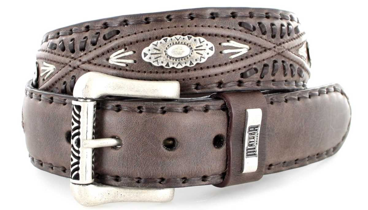 Mayura Boots MB338 Castana leather belt - brown