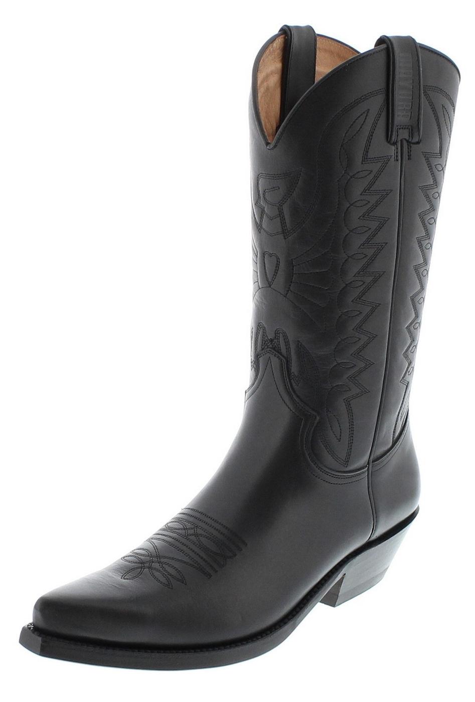 Mayura Boots 1920 Negro Western boot - black