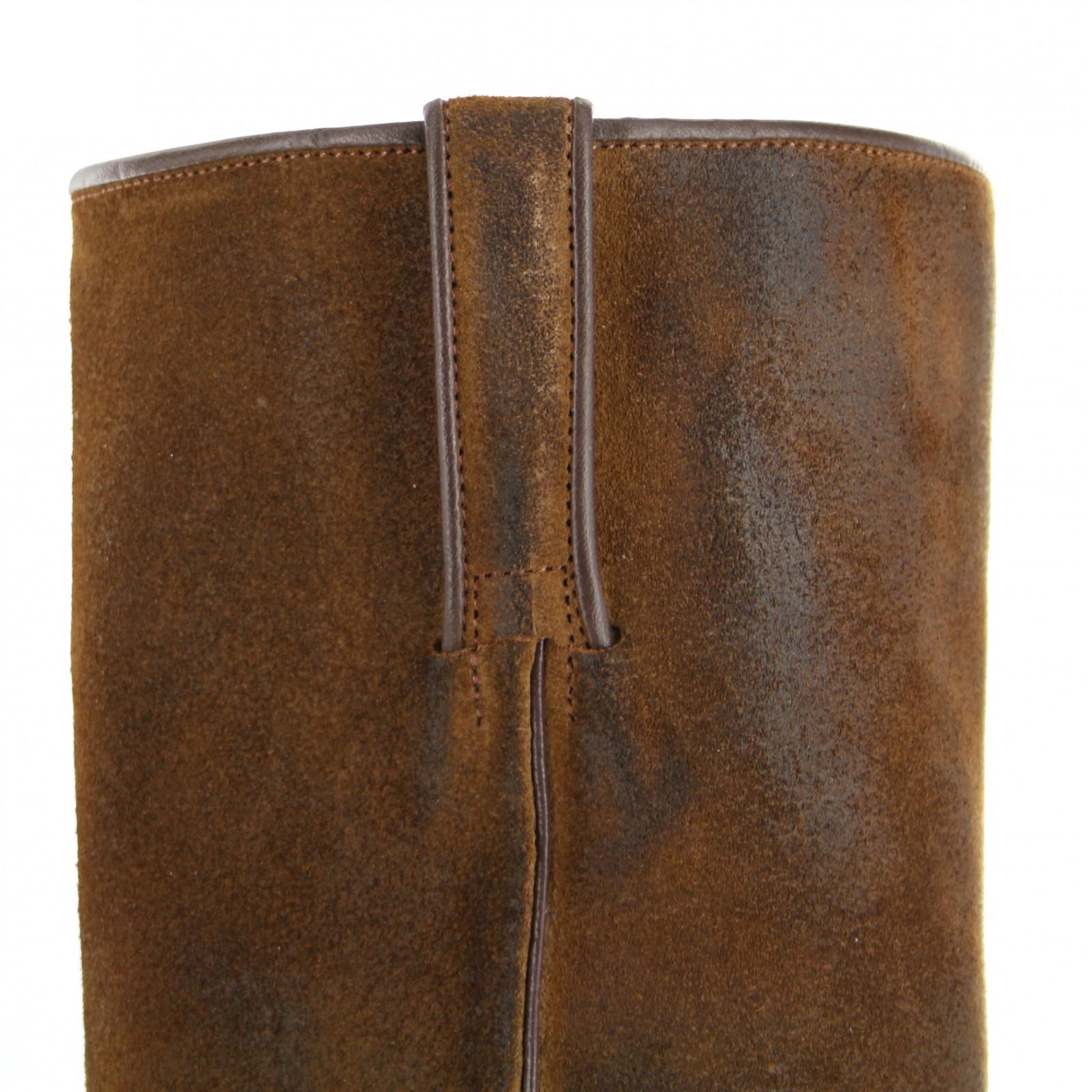 Tony Mora 1257 U Tabaco westernlaars - bruin | Fashion Boots