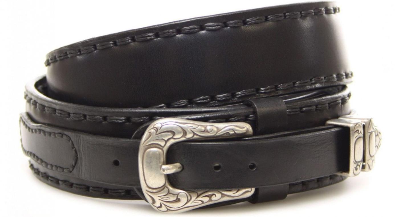 Sendra Boots 7582 Black Ledergürtel - schwarz