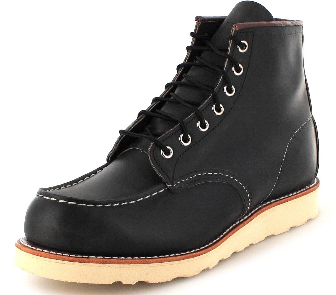 Red Wing Shoes 8890 MOC TOE Charcoal Herren Schnürstiefel - grau