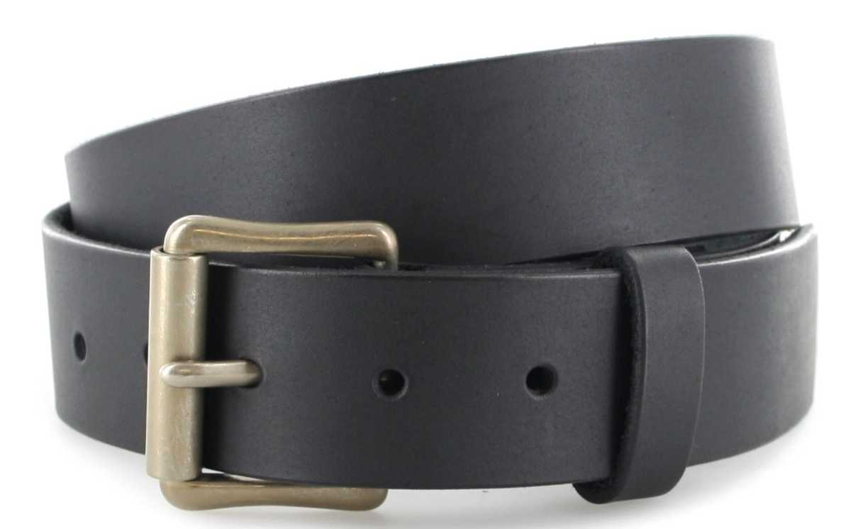 Red Wing Shoes 96503 Black leather belt  - black