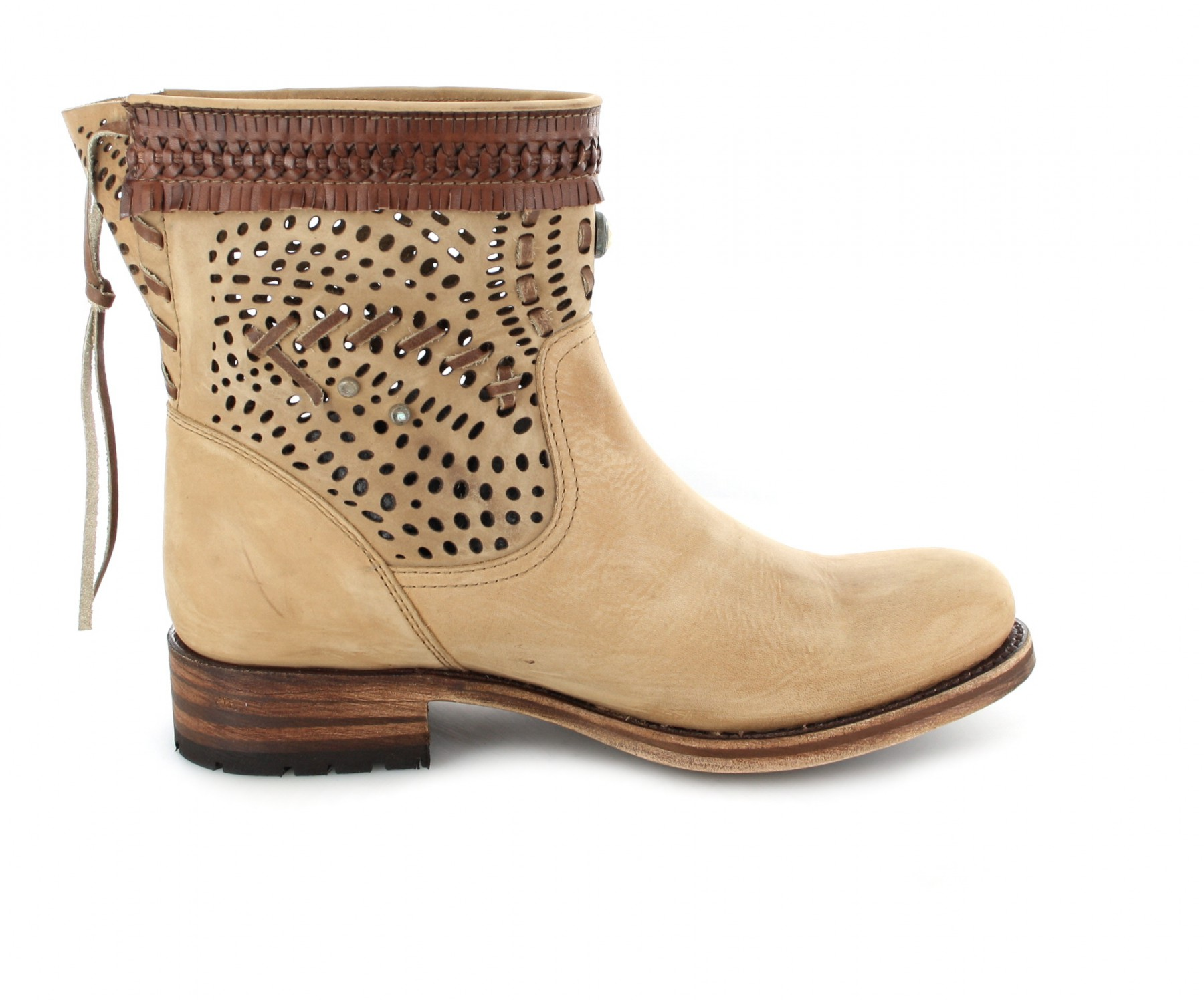 Sendra Boots 12440 Miel Fashion ankle boot - beige | Fashion Boots