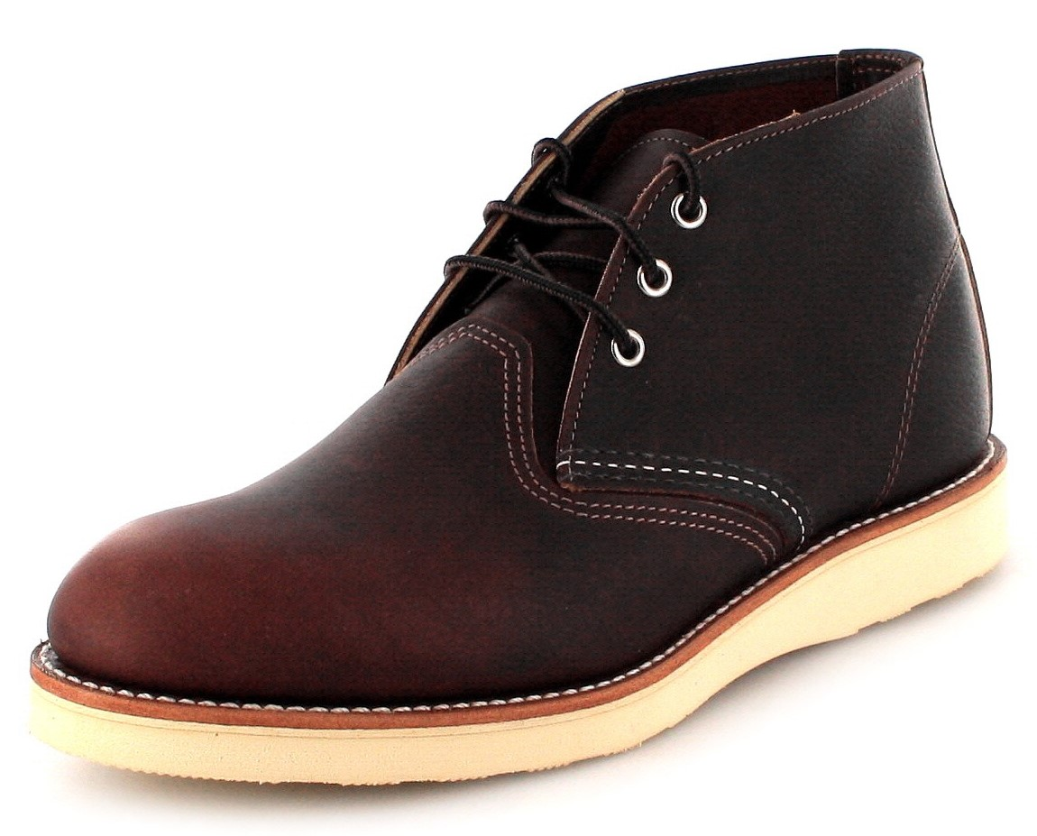 Red Wing Shoes CHUKKA 3141 Briar laced boot - dark brown