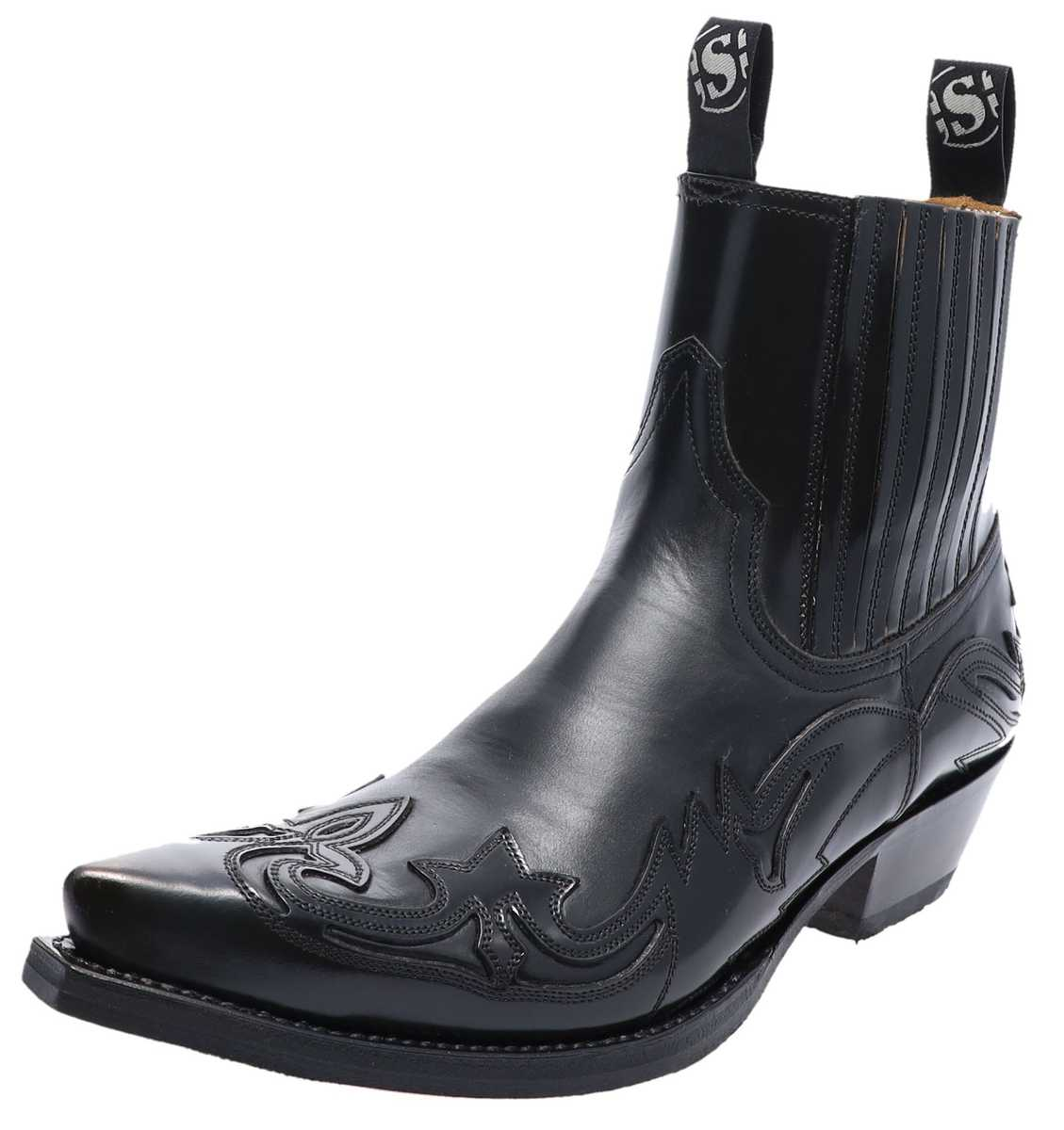 Sendra Boots 4660 Flo Negro Western ankle boot - black