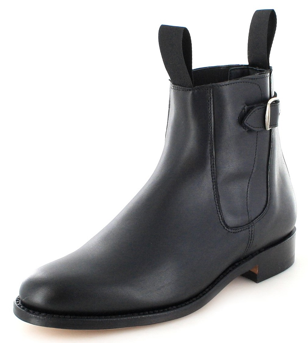 El Estribo 1690 Negro Chelsea Boot - black
