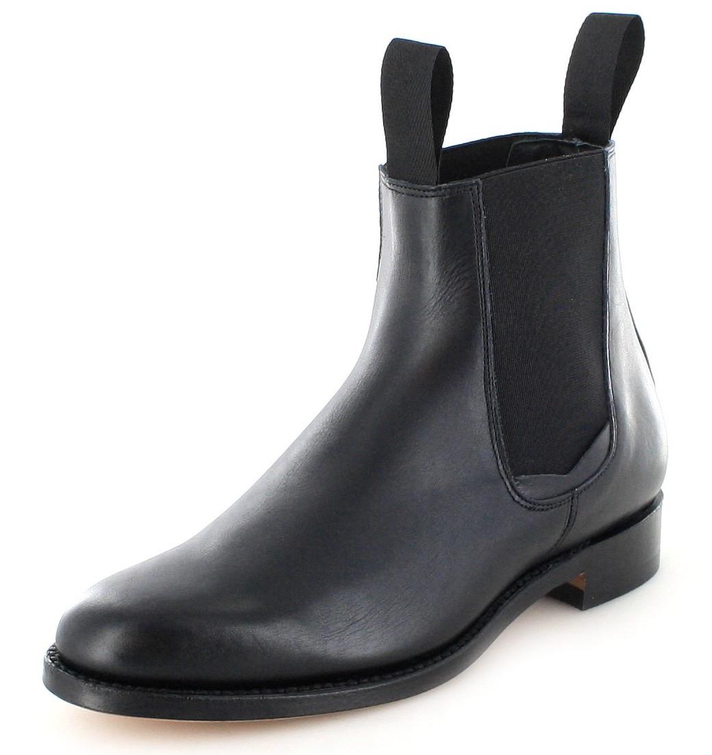 El Estribo 1691 Negro Chelsea Boot - schwarz