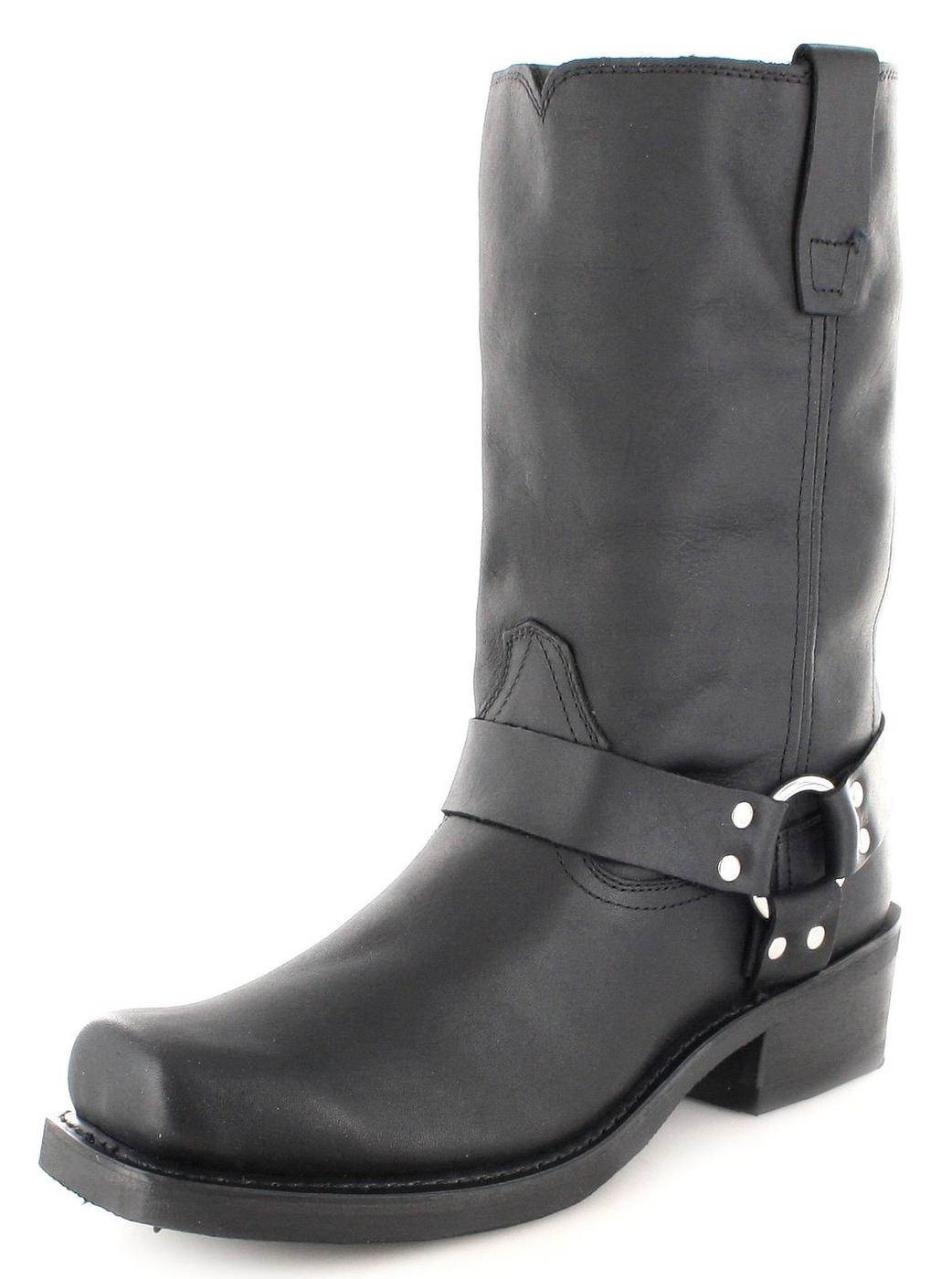 Durango Boots DB510 EE HARNESS Black Herren Bikerstiefel schwarz