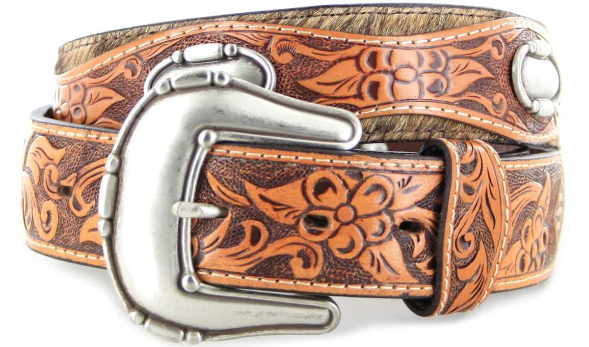 Stetson CHAMBERLIN 1162S Brown leather belt - brown