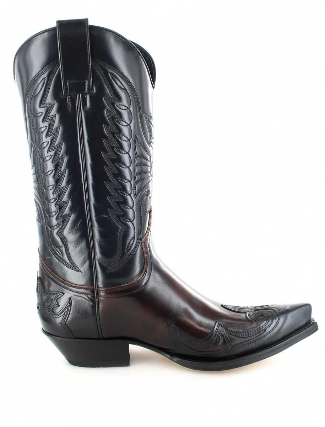 Red Black Sendra Boots Cherry Western Negro Boot 13170 u315TFKJcl