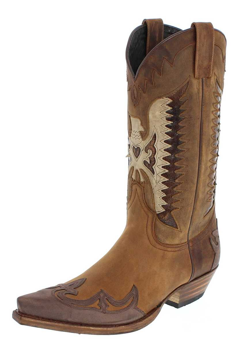 Sendra Boots 13171 Chocolate Ours Westernstiefel - braun