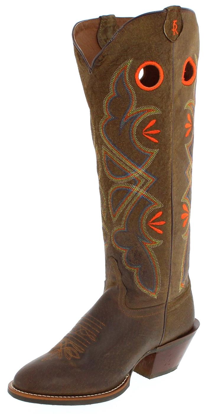 Tony Lama 3R2403L Western riding boot - brown
