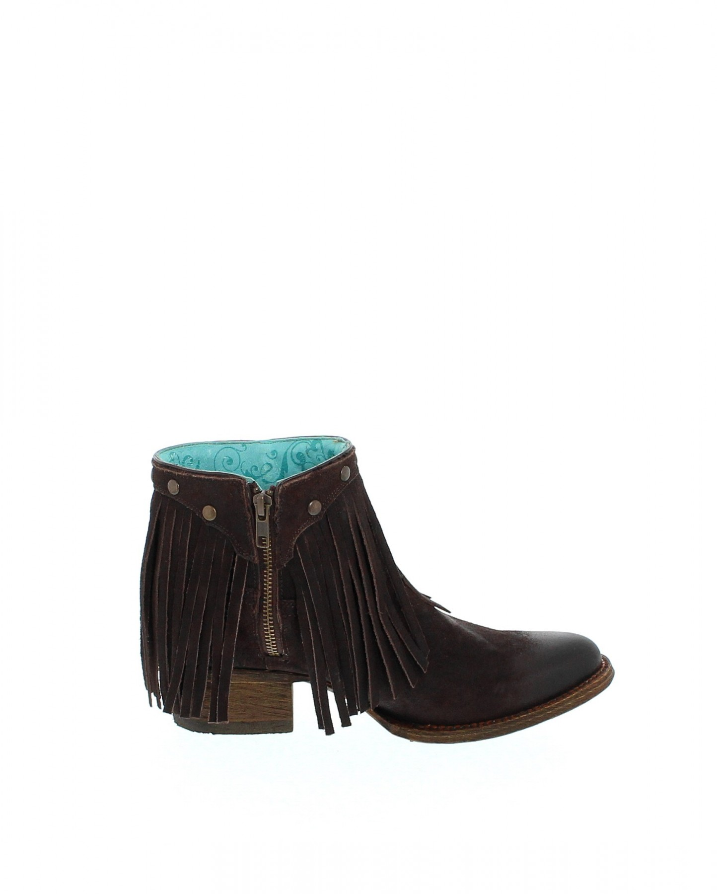 corral boots a3135 brown fashion ankle boot brown