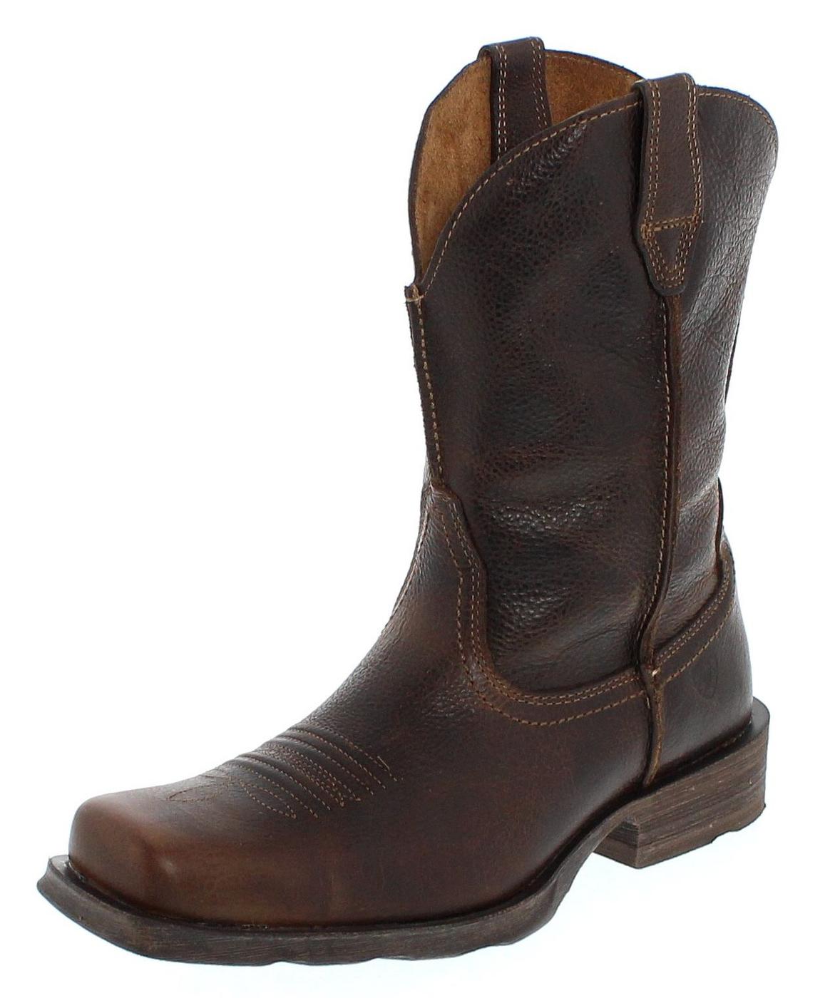 Ariat 15307 D RAMBLER Wicker Western riding boot - dark brown