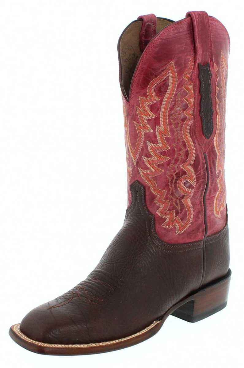 Lucchese CL8012 Chocolate Westernridingboot - brown