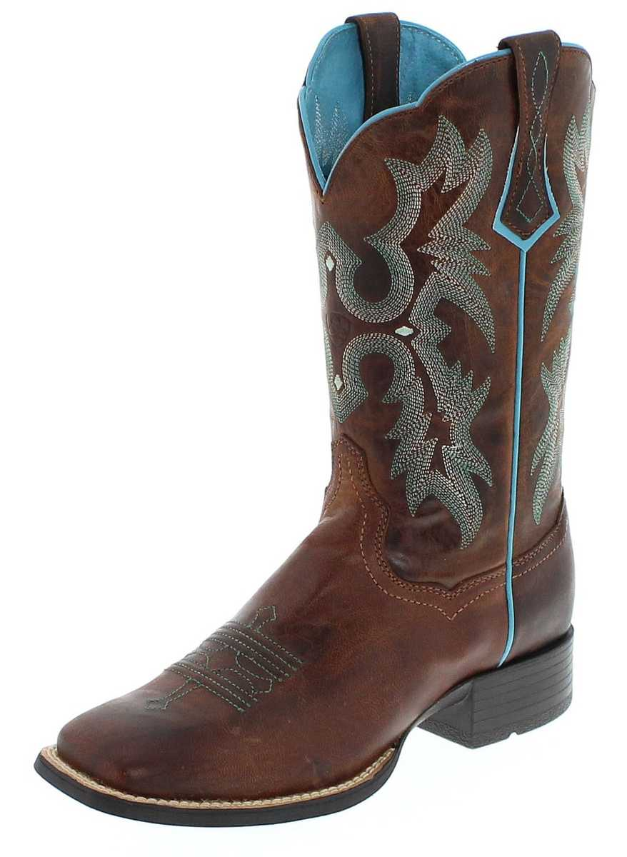 Ariat 8017 TOMBSTONE Brown Westernreitstiefel - braun