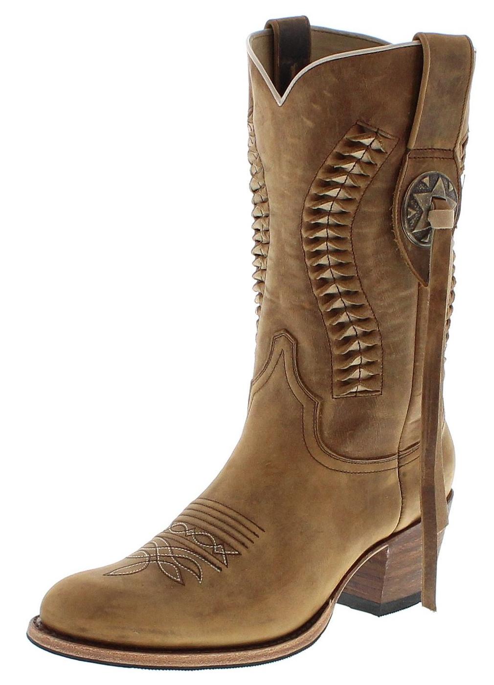 Sendra Boots 13394 Tang Fashion Westernstiefel braun