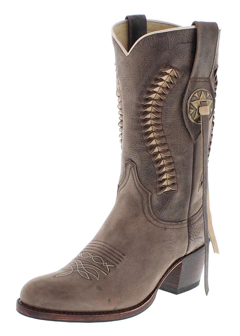 Sendra Boots 13394 Moro Fashion Westernstiefel - dunkelbraun