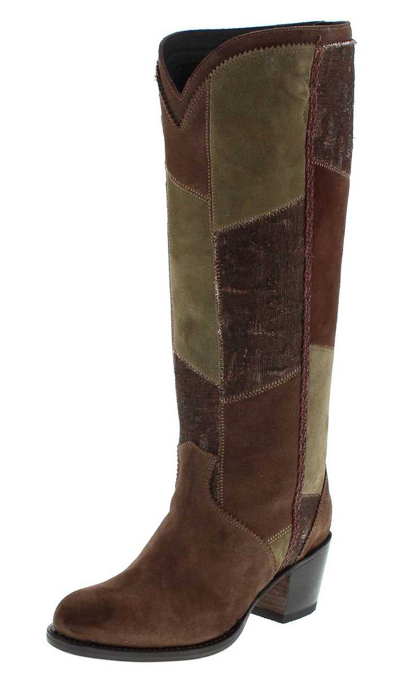 Sendra Boots 13695 Marron Damen Lederstiefel - braun