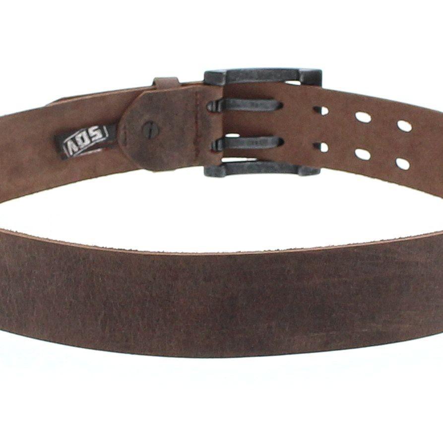 strong desert vintage vv260 681 leather belt brown