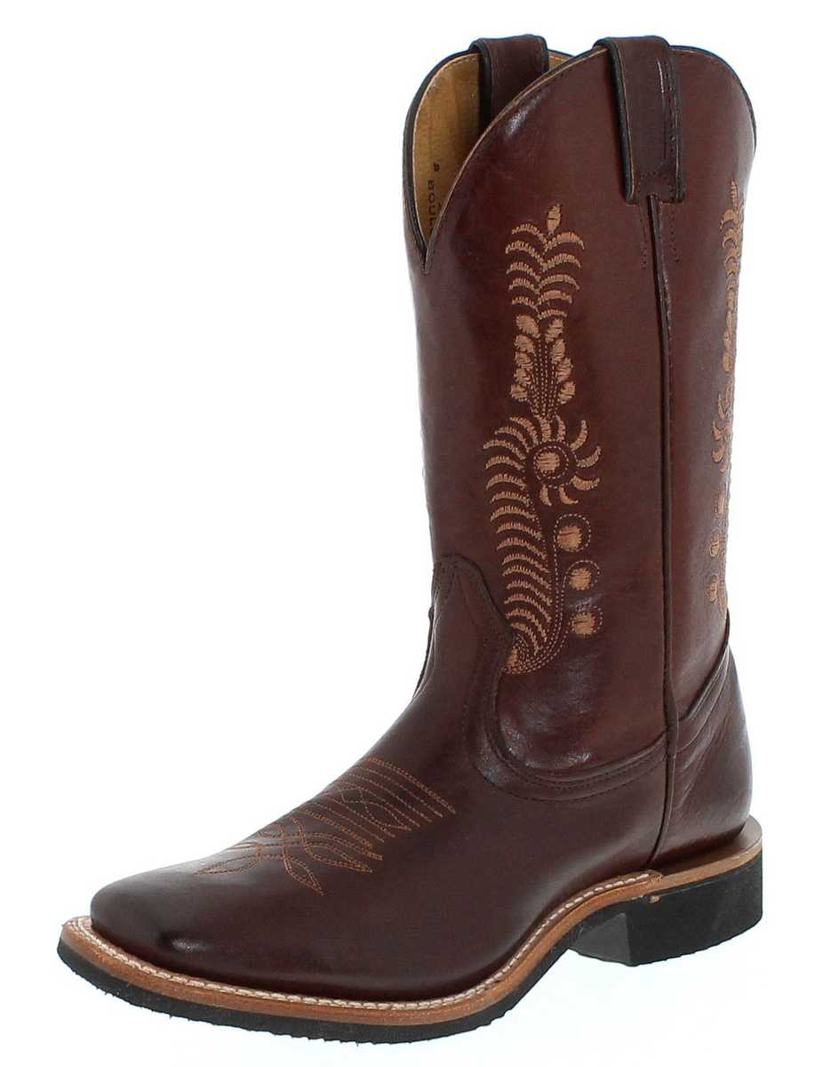 Boulet 5212 C Tan Damen westernridingboots - brown