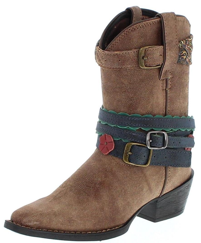 Durango Boots ACCESSORIZE DBT0169 Brown Kids Western boot