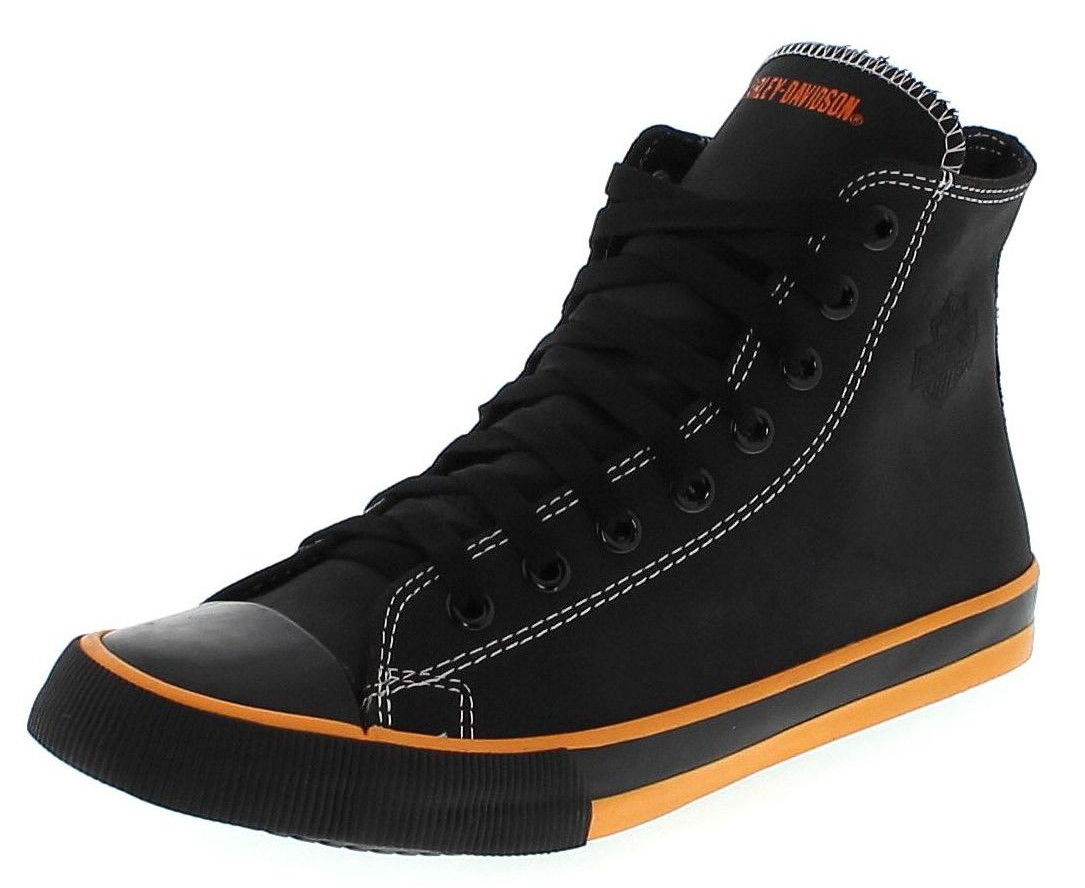Harley Davidson NATHAN D93816 Black Men´s High-Top Sneaker - black