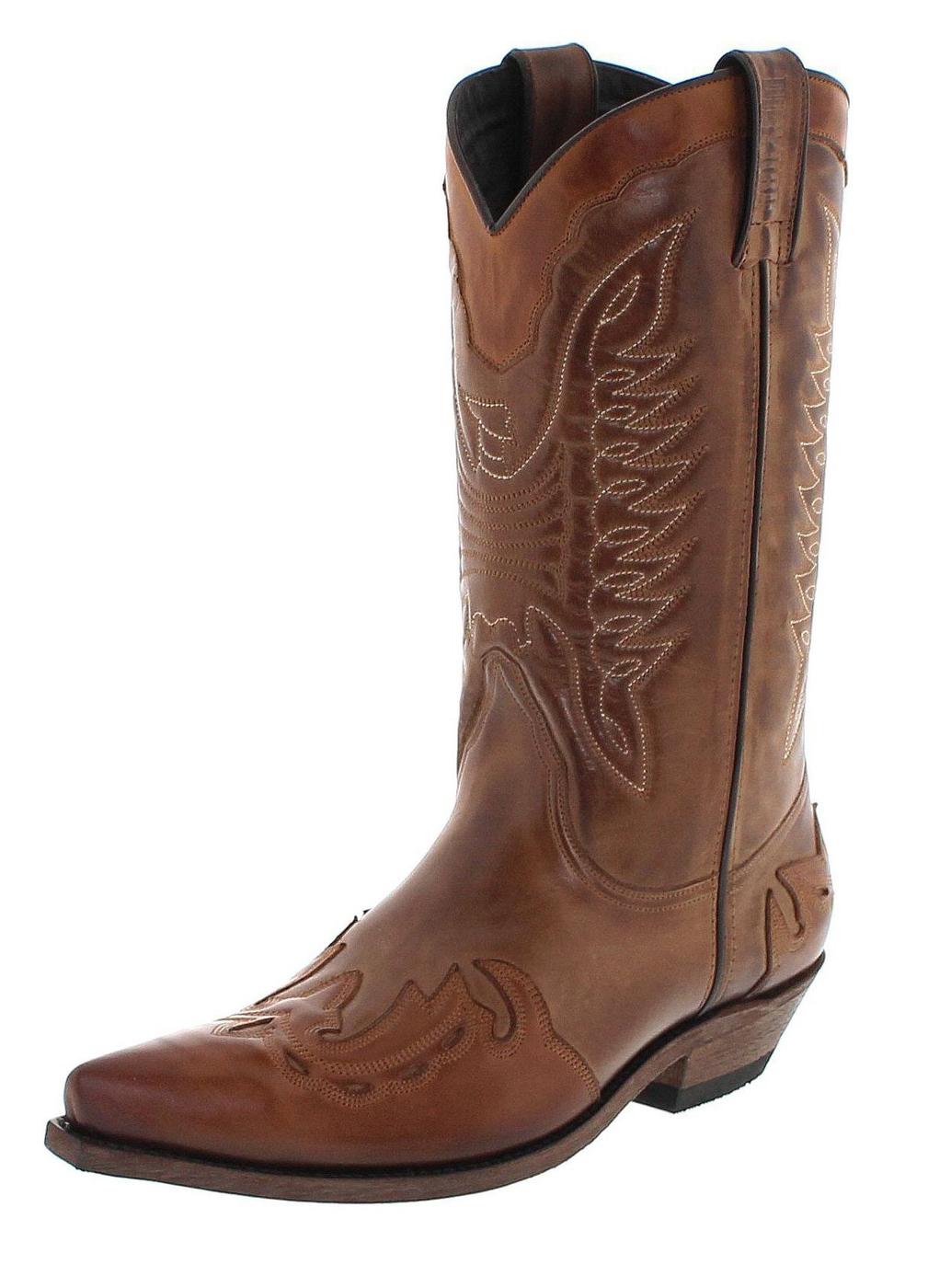 Mayura Boots MB017 Taupe Ecotan Western boot - brown