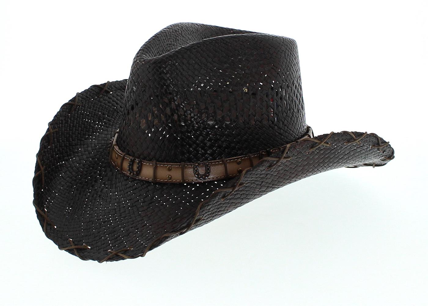 Dallas Hats HORSE SHOE 11 Brown Cowboy Hat
