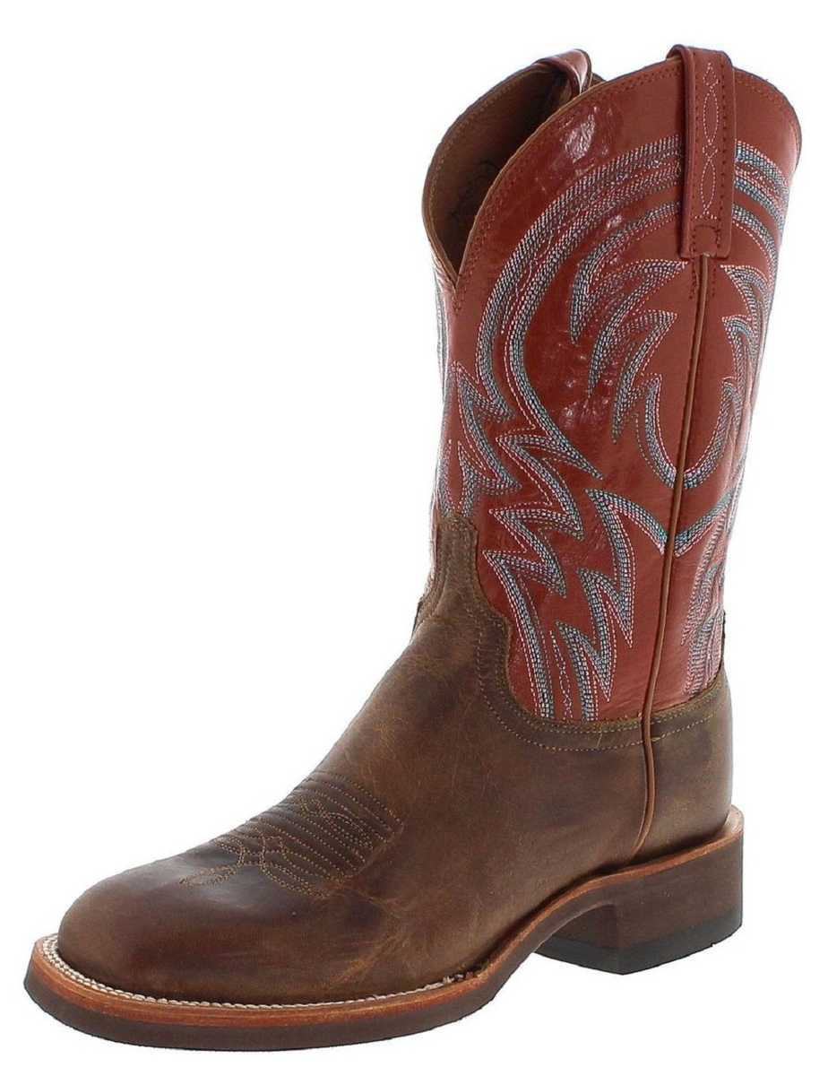 Lucchese ALAN MC2660-D Tan Westernridingboot - brown