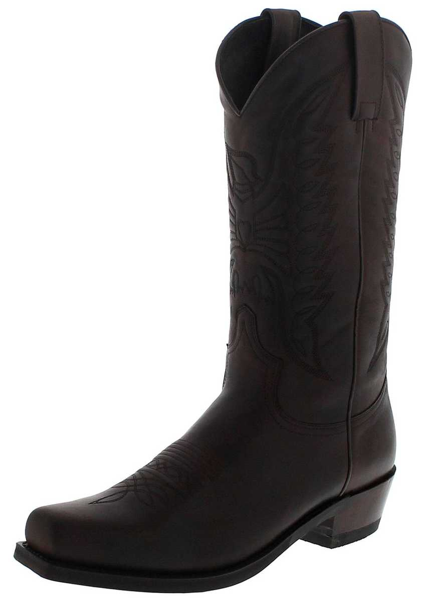 Sendra Boots 2073-58 Chocolate Western boot - dark brown