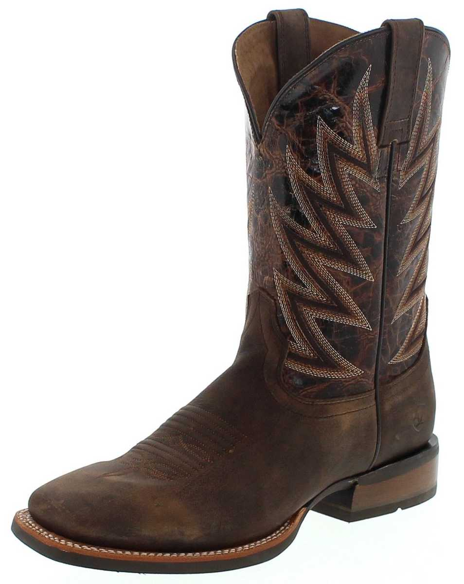 Ariat CHALLENGER 18695 Brown Brindle Western riding boot - brown