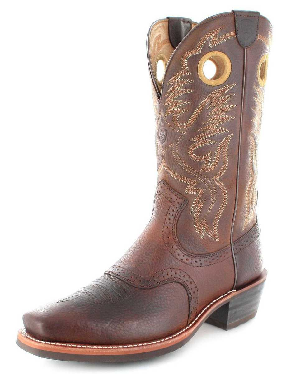 Ariat HERITAGE ROUGHSTOCK 2227 D Brown Western riding boot - brown