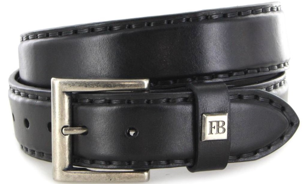 Fashion Boots FG5847 Negro leather belt - black