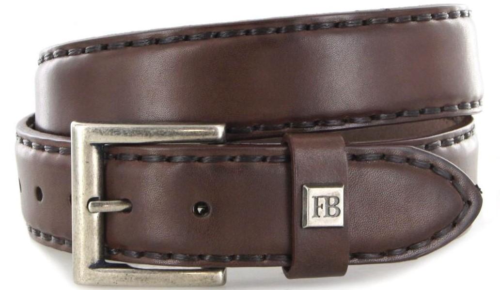 Fashion Boots FG5847 Marron leather belt - dark brown