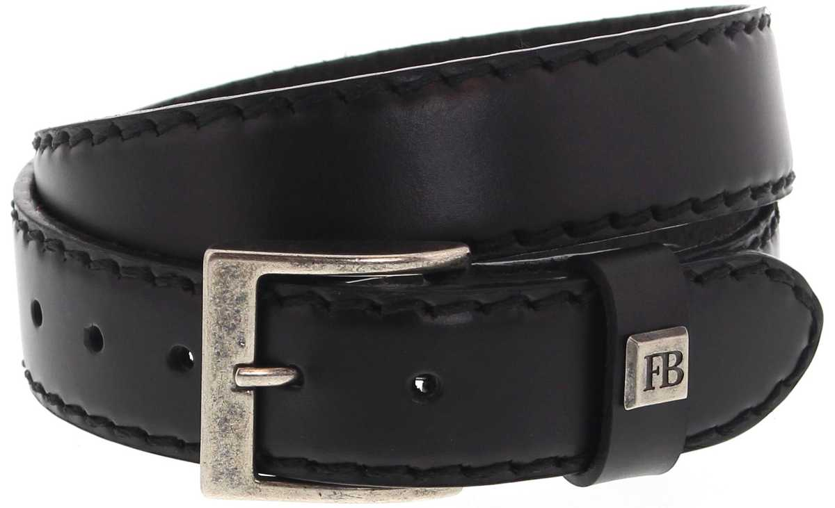 Fashion Boots FG5855 Negra leather belt - black