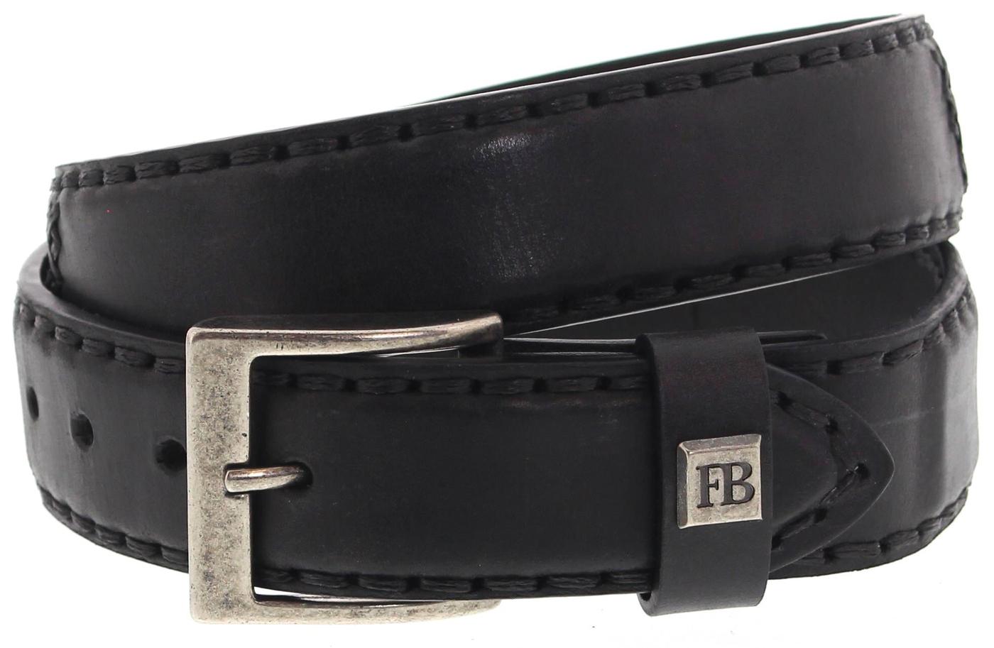 FB Fashion Boots FG3005 Codet Negro Ledergürtel - matt schwarz