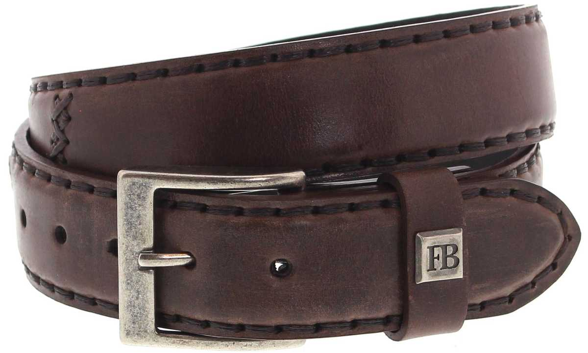 FB Fashion Boots FG3005 Jacinto leather belt - brown