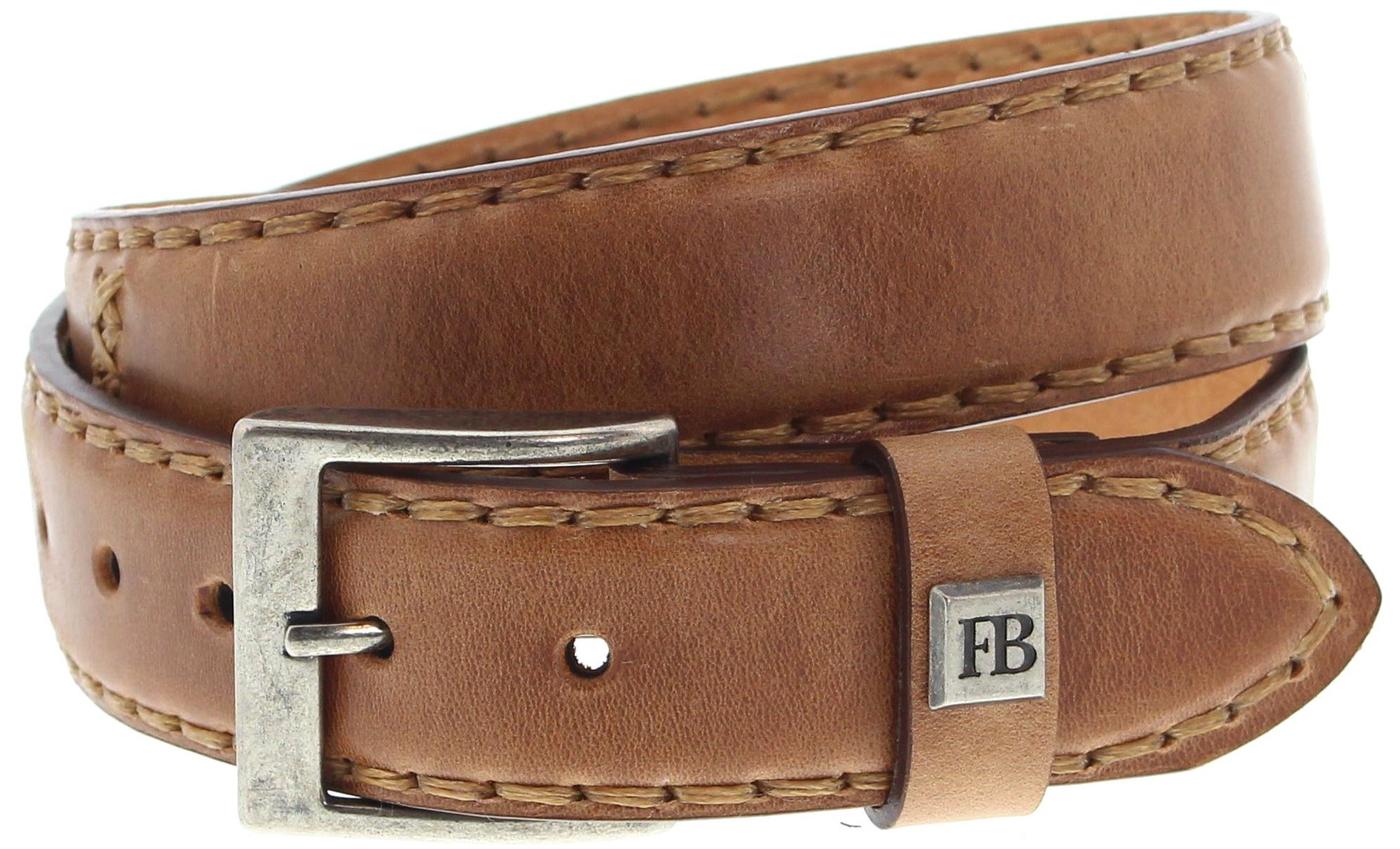 Fashion Boots FG3005 Cuero leather belt - brown
