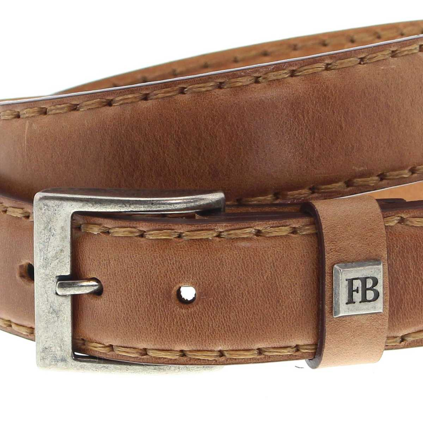 b033487c29e4af Fashion Boots FG3005 Cuero Ledergürtel - braun   Fashion Boots
