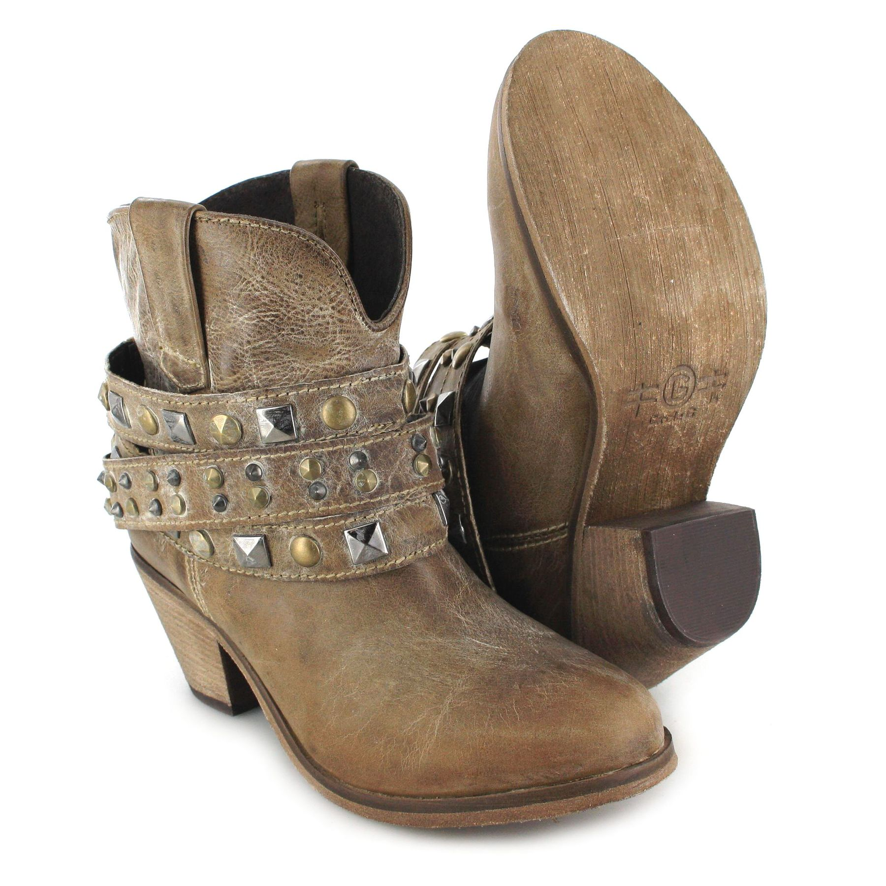 circle g by corral boots p5020 brown fashion ankle boot