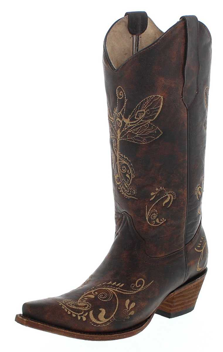 Circle G by Corral Boots L5001 LD Brown Western boot - brown