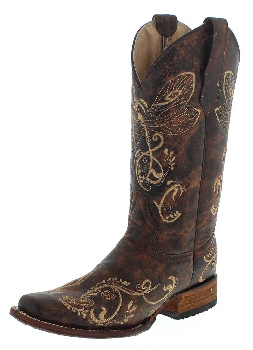 Circle G by Corral Boots L5079 LD Brown Western boot - brown